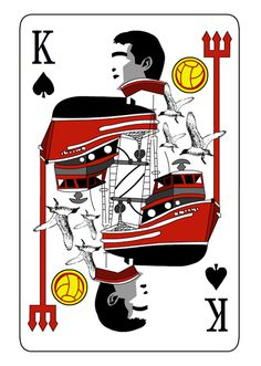 Eric Cantona - The King Art Print by miniboro British Football, Best Football Team, Football Art, Manchester United Football, Football Things, Soccer Art, Soccer Poster, King Frame, Eric Cantona