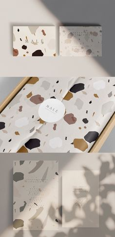 Creative modern abstract terrazzo pattern in earthy color palette, perfect for trendy stylish packaging design, branding, artsy design, stationery design and wall art. Creative Market, Creative Logo, Creative Design, Abstract Line Art, Abstract Shapes, Abstract Pattern, Web Design, Brand Design, Design Art