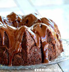 Chocolate Zucchini Cake (Grandma's Cookbook) More
