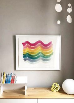 A FRESH START WITH ART – Simply Framed Rainbow Painting, Rainbow Art, Love Painting, Arches Watercolor Paper, Fresh Start, Pretty Pictures, Creative Director, Framed Art, To My Daughter