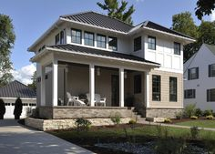 Lake Country Builders - contemporary - exterior - minneapolis - Lake Country Builders