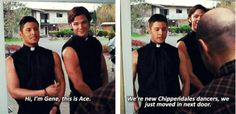 [SET OF GIFS] Gag reel....Seriously how do they get anything done? lmao