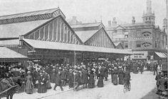 Market Street Blackpool, Old Pictures, Ancestry, Bobs, Paris Skyline, Past, Memories, Street, Building