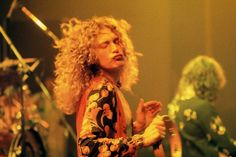 Robert Plant photographed by Neal Preston, 1975.
