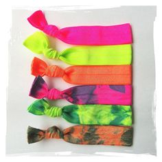 Nifty+Neon+Tie+Dye+Hair+Ties+French+Twists+Neon+Pink+by+TWISTitUP,+$6.95 (Love These!!!)