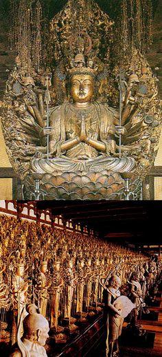 京都 妙法院蓮華王院(三十三間堂) 千手観音菩薩像