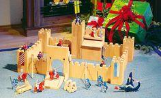 Bauanleitung: Ritterburg aus Holz selber bauen