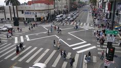The intersection of Hollywood Boulevard and Highland Avenue is among the world's most famous—you've seen it broadcast every year on the Oscars as the start of the red carpet. But like most celebrities, the tourist-thronged Los Angeles landmark had a very dark secret: It was known as one of the most dangerous intersections for pedestrians in LA. That all changed six months ago.