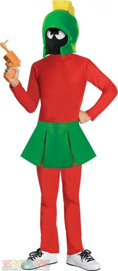 #Marvin the Martian Costume