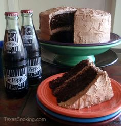 Dr Pepper Chocolate Cake recipe from Grandma's Cookbook of kitchen-tested recipes.