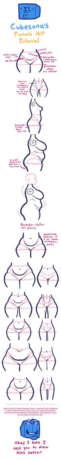 TUTORIAL: Hips by Cubesona