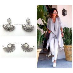 Bom dia !!! Para o final de semana: brincos estilosos para look confortável Brinco Ear Jaket com cravação em zirconia ( quem veio ver de perto amou ) Brinco Asa Style banhados em ródio #lismarques #lismarquesacessorios #vempralismarques #euquero #musthave #style #ootd #outfit #cool #instafashion #glamour #lookdodia #looklismarques #fashion #altodalapa #altodepinheiros #vilaleo #vilaleopoldina #ruacarlosweber #ruapassodapatria