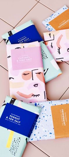 Trending brands and branding for design, colors, layout and mood boards for your brand. Packaging Box Design, Branding And Packaging, Pretty Packaging, Label Design, Branding Design, Logo Design, Product Packaging, Flower Packaging, Coffee Packaging