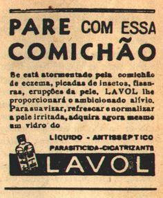 Lavol. 'Liquido - Antisseptico - Parasiticida - Cicatrizante'. To stop the itching. Pour arrêter les démangeaisons.