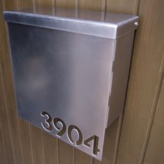 modern design wall mounted mailboxes stainless steel