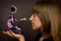 Doll Compositions - Enchanted Doll by Marina Bychkova. Amazing artist.