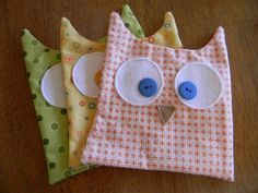 Owl Softies-tutorial   # Pin++ for Pinterest #