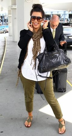 Purse - Balenciaga Suitcase - Louis Vuitton Pants - Siwy Denim Marielle Cargo Shoes - Jeffrey Cambell Sunglasses - Marc Jacobs Watch - Michael Kors Jacket - Camilla and Marc Shirt - Nation Ltd. Mississippi More Jeffrey Campbell... More Nation Ltd.... Similar style purse by the same designer More Bal