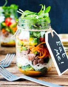 Salad in a jar : inspirez-vous de ces recettes de #SaladinaJar pour des repas…