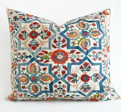 Items similar to Luxury suzani embroidered pillow cover, design,decorative pillows for couch,decorative pillows for bed,decorative throw pillows beige pillow on Etsy Beige Pillows, Diy Pillows, Couch Pillows, Decorative Throw Pillows, Diy Pillow Covers, Vintage Pillows, Best Pillow, Designer Pillow, Etsy