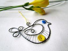 vtáčiK // cute wire Birdie