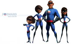 Team Obama as the Incredibles