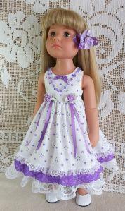 Dresses for 18″ Dolls, such as Hannah Gotz, Happy Kidz & Precious Day Gotz,Kidz n Cats, Designafriend, American Girl,Journey Girl. ___________________________________________________________…