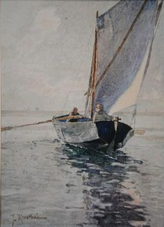Johan Krouthén - Sailing boat