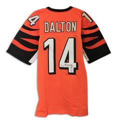 Andy Dalton Cincinnati Bengals Autographed Jersey b6ff34ad2