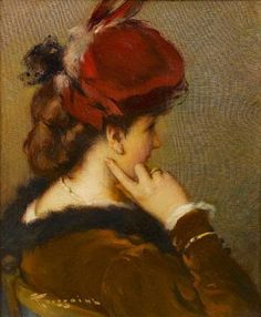 'The Red Hat' Fernand Toussaint