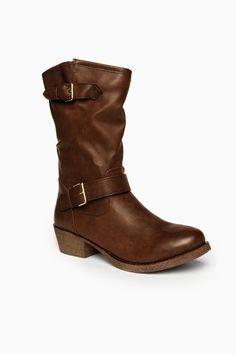 ShopSosie Style : Jessalyn Boots in Brown