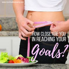 Track your progress by taking your weight once a week, take a weekly photo of yourself or you can share to your group for extra accountability, take your measurements and your body fat, keep a journal and check how your clothes fit.