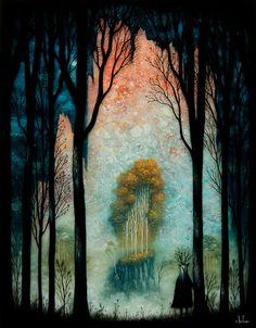 songstarliner:  Andy Kehoe - Eternal Glow of the Celestial Peaks