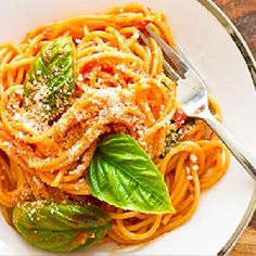 awesome Pasta with Fresh Basil