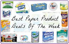 Best Paper Product Deals Of The Week 7/31 - http://couponingforfreebies.com/best-paper-product-deals-of-the-week-731/