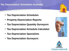 Tax Depreciation Schedules Australia prepares making of swap sorts of models and regulations that are especially for property valuation.  Which is essential in the consolidated technique of making of responsibility deterioration.