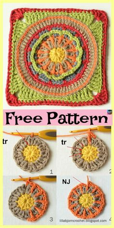 Transcendent Crochet a Solid Granny Square Ideas. Inconceivable Crochet a Solid Granny Square Ideas. Granny Square Crochet Pattern, Crochet Squares, Crochet Blanket Patterns, Granny Squares, Crochet Granny, Crochet Pouch, Crochet Blankets, Crochet Gifts, Baby Patchwork Quilt