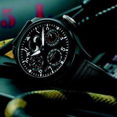 IWC Big Pilot's Perpetual Calendar Top Gun Watch