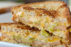 Southwest Grilled Cheese and Bologna Sandwich {Gluten Free}