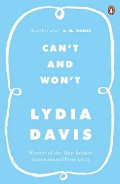 Can't and Won't (Paperback)