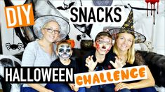 DIY CHALLENGE Halloween Ft Swan The Voice, Néo The One & Sophie (français)
