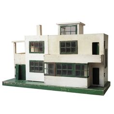 Ultra Modern Dolls House, 1930s | From a unique collection of antique and modern toys at https://www.1stdibs.com/furniture/more-furniture-collectibles/toys/