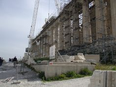 Restoration of the Acropolis Athens  Greece