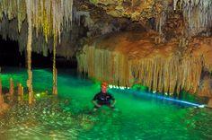 Rio Secreto in Quintana Roo  #Caves #Cenotes #Mexico #Quintana #Roo #Rio #Secreto #Riviera #Maya #Yucatan