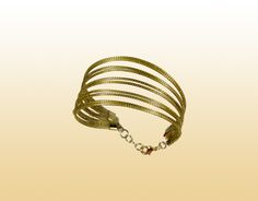 Pulseira Fios Dourados — Brasil Capim Dourado