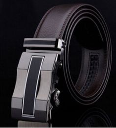 Cowskin Belt Men Automatic Buckle Brand Designer Genuine Leather Belts for Business Men Luxury High Quality Belt for Man Leather Belts, Leather Men, Men's Belts, Luxury Belts, Luxury Ties, Just For Men, Designer Belts, Spring Fashion Trends, Omega Seamaster