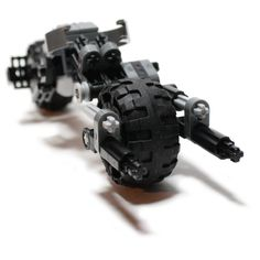 Batpod V2 - Custom LEGO Element Kit | 2010 | 65 pieces | This model became amazingly popular in Japan. And then I ran out of pieces :(