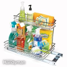 Kitchen Storage: Cabinet Rollouts