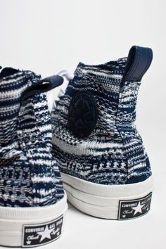 Converse Chucks done by Missoni, nice, expensive.