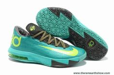 Mint Green Grey Volt Nike Zoom KD 6 Online